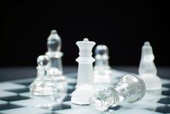 De schaakmat van het schaak stock afbeeldingen