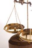 De schaal van de juwelier royalty-vrije stock afbeeldingen