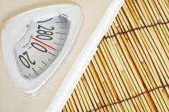 De schaal van het gewicht Stock Foto