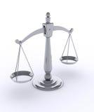 De schaal van het gewicht royalty-vrije illustratie