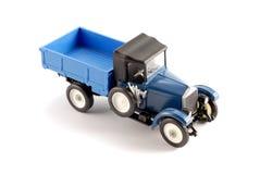 De schaalmodel van de inzameling van de retro vrachtwagen Stock Foto's