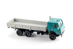De schaalmodel van de inzameling van de vrachtwagen Aan boord Royalty-vrije Stock Foto