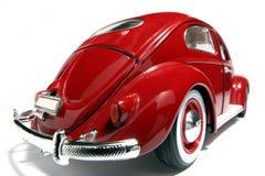 De schaalstuk speelgoed van het metaal model oude fisheye van VW Beatle 1955 #2 stock foto
