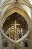 De schaar overspant de Kathedraal van Putten Stock Foto's