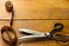 De schaar van de kleermaker royalty-vrije stock afbeeldingen