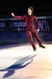 De schaatser Stephane Lambiel van het ijs Royalty-vrije Stock Afbeelding