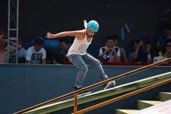 De schaatser van de rol Royalty-vrije Stock Foto's