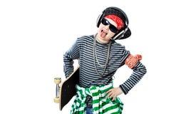 De schaatser van de tiener royalty-vrije stock foto's