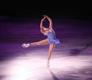 De schaatser van het cijfer Stock Foto