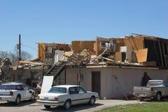 De schade KY 1m van de tornado Stock Foto's