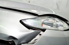 De schade van de auto. stock afbeeldingen