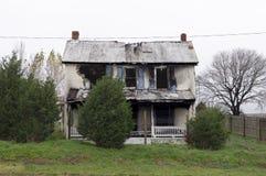 De Schade van de brand Stock Afbeeldingen