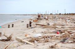 De Schade van de orkaan stock foto