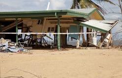 De Schade van de orkaancycloon Royalty-vrije Stock Foto