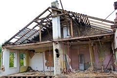 De Schade van de tornado stock foto's