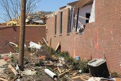 De schade van de tornado 1c royalty-vrije stock fotografie