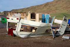 De Schade van het onweer. stock fotografie