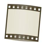 In de schaduw gestelde het frame van de film Stock Fotografie