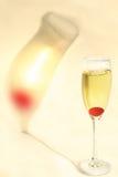 De Schaduw van de Kers van Champagne stock foto