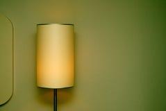 De Schaduw van de lamp Stock Fotografie