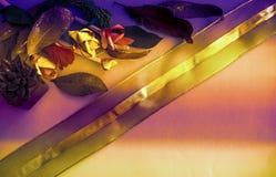 De schaduwachtergrond van de luxe gouden wintertaling Het comfortabele & comfortabele rijke behang van het dalingsthema Het goude royalty-vrije stock foto's