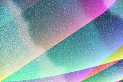 De schaduwen van Blauw schitteren Achtergrond met Kleuren royalty-vrije stock afbeelding