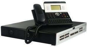 De schakelaar en de telefoon van de telefoon Stock Afbeeldingen