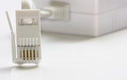 De schakelaar van de Kabel van DSL Stock Foto's