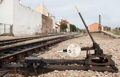 De schakelaar van de spoorweg Royalty-vrije Stock Foto's