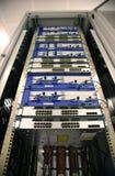 De Schakelaars van het netwerk stock foto