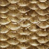 De schalen naadloos patroon van vissen Stock Foto