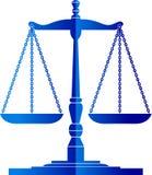 De schalen van de rechtvaardigheid Royalty-vrije Stock Afbeelding