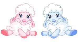 De schapen van de baby Royalty-vrije Stock Afbeeldingen