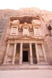 De schatkist bij Petra royalty-vrije stock afbeeldingen