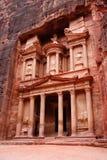 De schatkist, Petra, Jordanië Royalty-vrije Stock Fotografie