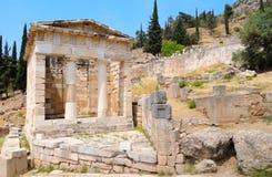 De schatkist van Athene Royalty-vrije Stock Afbeeldingen