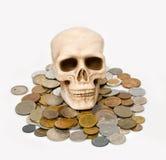 De schedel Royalty-vrije Stock Afbeelding