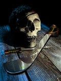 De schedel van de piraat Royalty-vrije Stock Foto