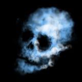 De schedel van de rook Stock Afbeeldingen