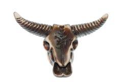 De schedel van de stier Royalty-vrije Stock Foto
