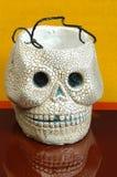 Halloween-schedel Stock Afbeelding