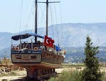 De scheepswerf van de reparatie Royalty-vrije Stock Fotografie