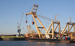 De Scheepswerf van Rotterdam Stock Afbeelding