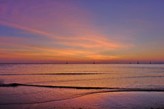 De schemer van Lanta-eiland royalty-vrije stock foto