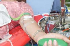 De schenking van het bloed Stock Fotografie