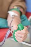 De schenking van het bloed Stock Afbeelding