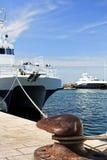 De schepen van de cruise Stock Afbeelding