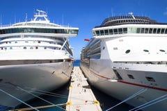 De Schepen van de cruise Royalty-vrije Stock Fotografie