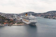 De schepen van de cruise Royalty-vrije Stock Afbeeldingen