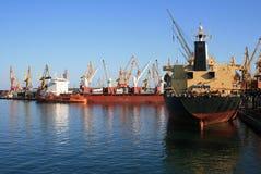 De schepen van de droog-lading Royalty-vrije Stock Afbeeldingen